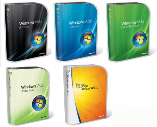 Distintos Windows Vista