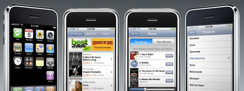 El IPhone (telefono movil + IPOD) ya se puede comprar en España