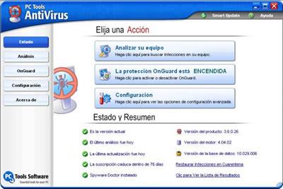 Descargar Antivirus Gratis en Castellano
