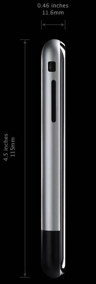 Foto del IPHONE a tamaño real