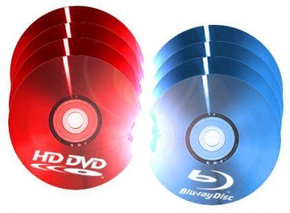 HD-DVD Blu-Ray